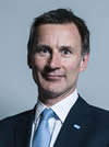 Official portrait of Mr Jeremy Hunt crop 2